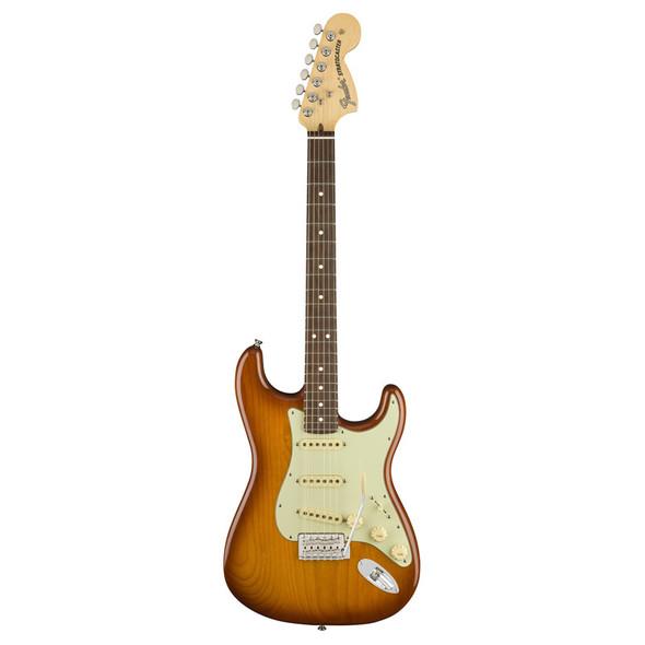 Fender American Performer Stratocaster Electric Guitar, Honey Burst, Rosewood