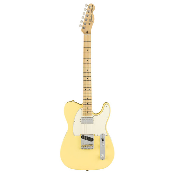 Fender American Performer Telecaster Electric Guitar w/Humbucking, Vintage White, Maple