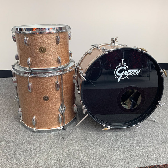 Gretsch USA 1960s Round Badge Shell Pack in Champagne Sparkle (Pre-Owned)