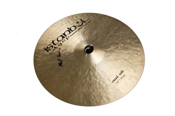 Istanbul Mel Lewis Signature Series 19 Inch Crash/Ride Cymbal