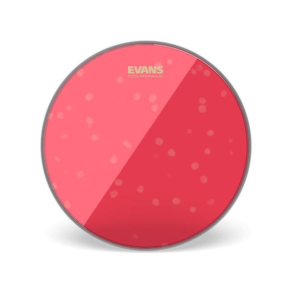 Evans TT10HR 10 Inch Hydraulic Drum Head, Red