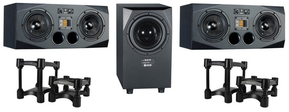 ADAM A77X and Sub10 Mk2 Monitoring System