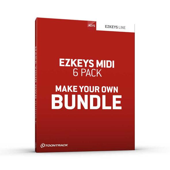 Toontrack EZkeys MIDI 6 Pack (Download)