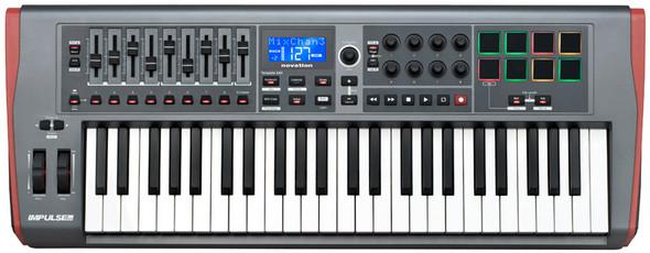 Novation Impulse 49 USB MIDI Controller Keyboard   (b-stock)