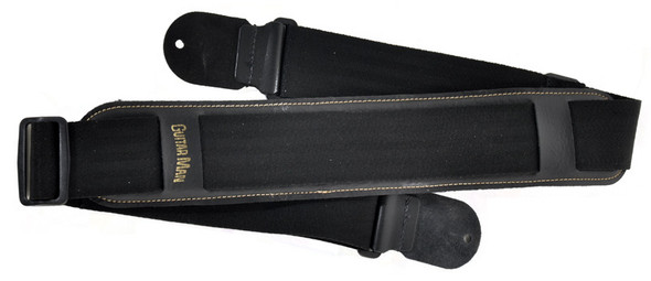Klondyke Guitar Man Padded Guitar Strap Black