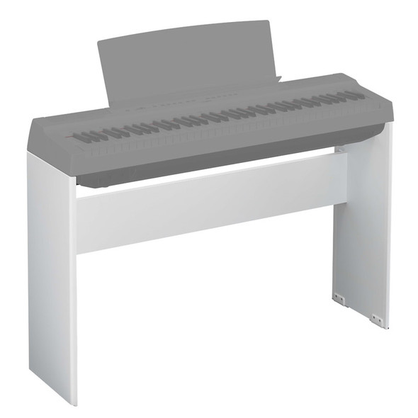 Yamaha L-121WH Wooden Stand For P-121 Digital Piano, White