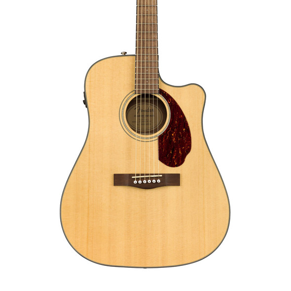 Fender CD-140SCE Electro-Acoustic Guitar, Natural with Case