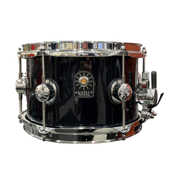 Natal Stave 10 x 6.5 inch Ash Snare Drum in Black