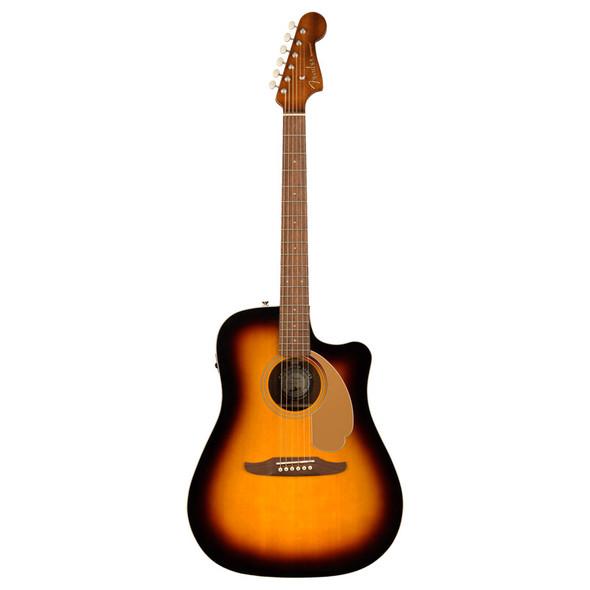Fender Redondo Player Electro-Acoustic Guitar, Sunburst