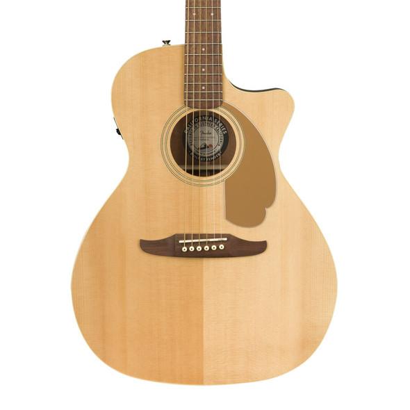 Fender Newporter Player Electro-Acoustic Guitar, Natural