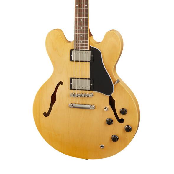 Gibson ES-335 Satin Electric Guitar, Satin Vintage Natural