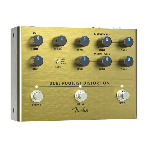 Fender Duel Pugilist Distortion Effects Pedal