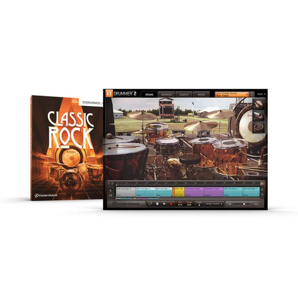 Toontrack EZX: Classic Rock Expansion for EZ Drummer 2