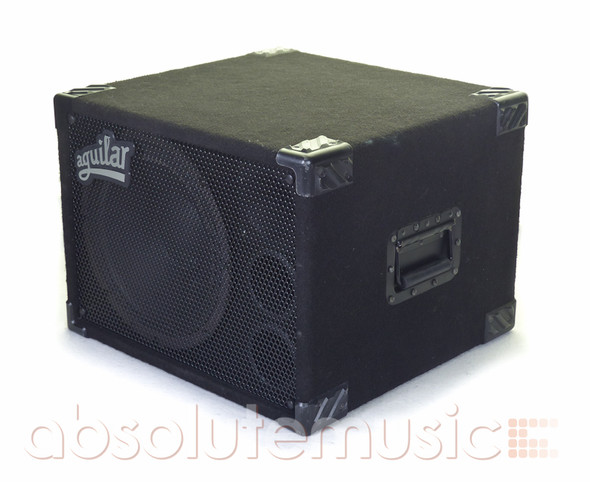 Aguilar GS112 300 Watt Bass Speaker Cabinet, 8 Ohm with Cover (Pre-Owned)