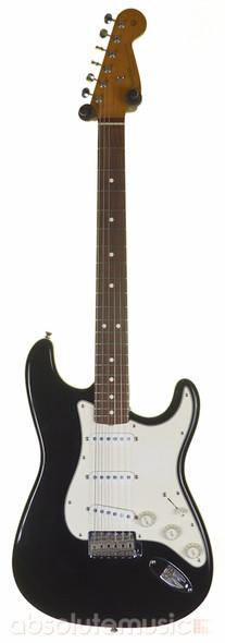 Fender American Vintage 62 Stratocaster Electric Guitar, Rosewood, Black (Pre-Owned)