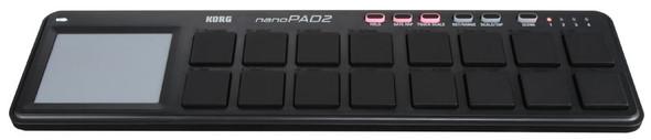 Korg NanoPAD2 USB Drum Pad Controller (Black)