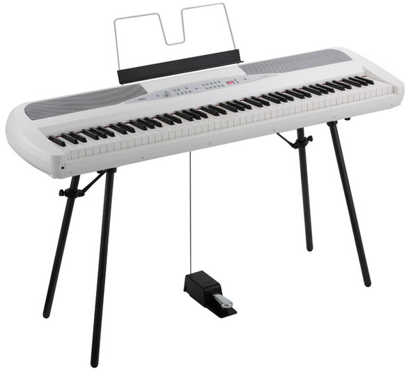 Korg SP-280 Digital Piano, White