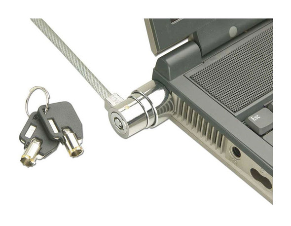 Lindy Notebook Security Cable, Barrel Key Lock