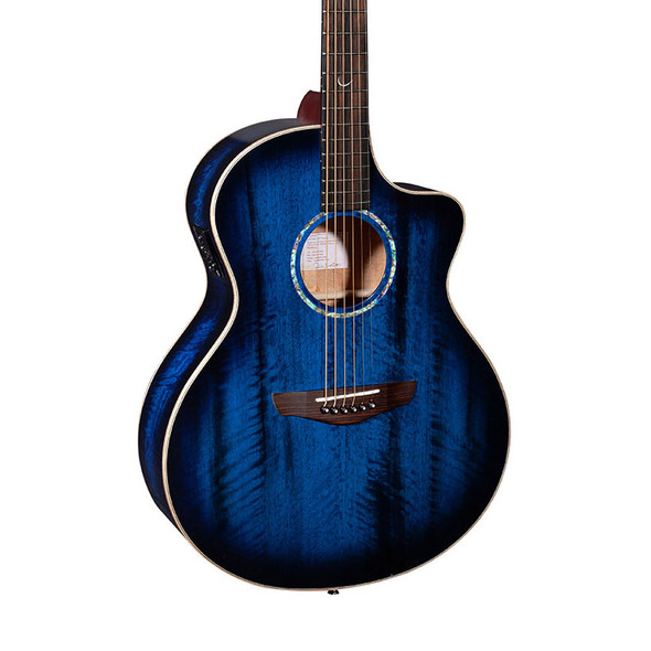 Faith FNCEBLM Blue Moon Neptune Cutaway Electro Acoustic Guitar