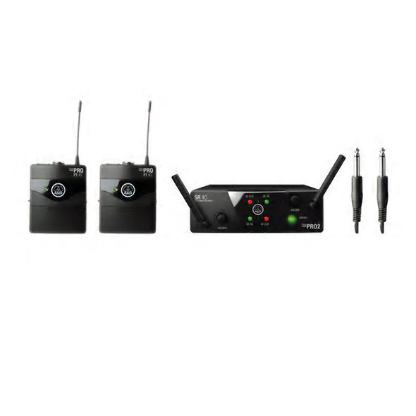 AKG WMS 40 Mini Dual Instrument Wireless Set