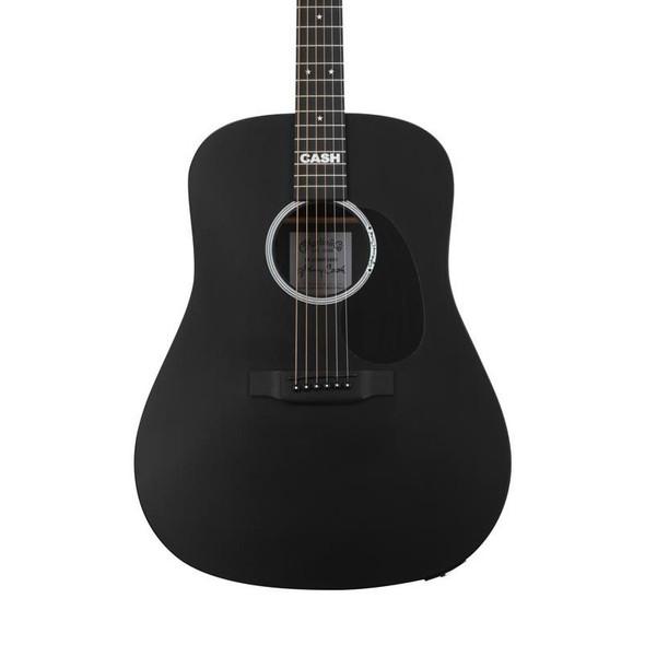 Martin DX Johnny Cash Electro-Acoustic Guitar, Black