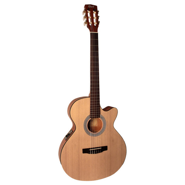 Cort CEC1 Electro-Acoustic Guitar, Open Pore with Gig Bag