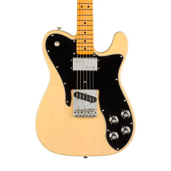 Fender American Original 70s Telecaster Custom, Vintage Blonde, Maple