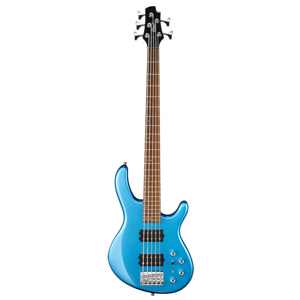 Cort Action HH5 5 String Bass Guitar, Toluca Lake Blue