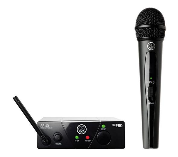 AKG WMS40 Mini Single Vocal Set ISM1