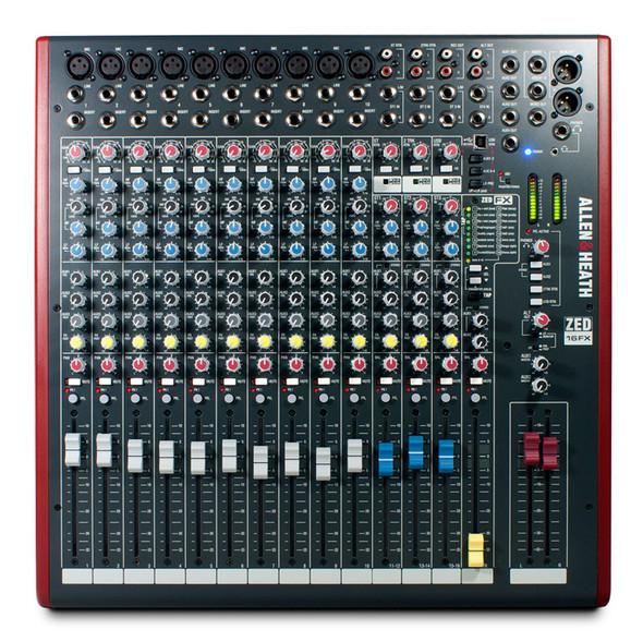 Allen & Heath Zed 16FX Mixing Console (10 mono + 3 stereo channels)