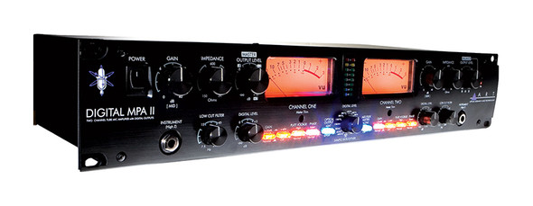 ART Digital MPA II Two Channel Microphone Pre-amplifier