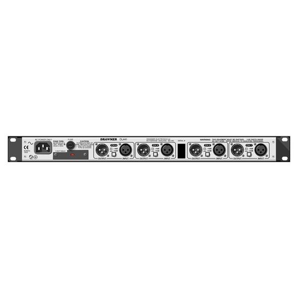 Drawmer DL441 Quad compressor/limiter (XLR)