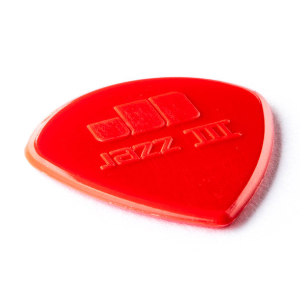 Dunlop Nylon Jazz III Red, Player Pack 6 Plectrums