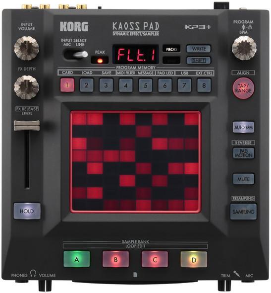 Korg Kaoss Pad KP3+ Dynamic Effects Processor and Sampler