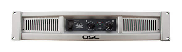 QSC GX7 power amplifier  (1000Wpch at 4 Ohms)