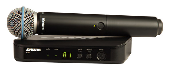 Shure BLX24UK/B58 Beta 58A Wireless Vocal System (Analogue)