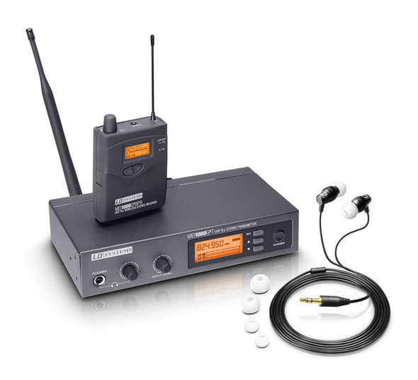 LD Systems MEI 1000 G2 Wireless In-Ear Monitoring System, CH70