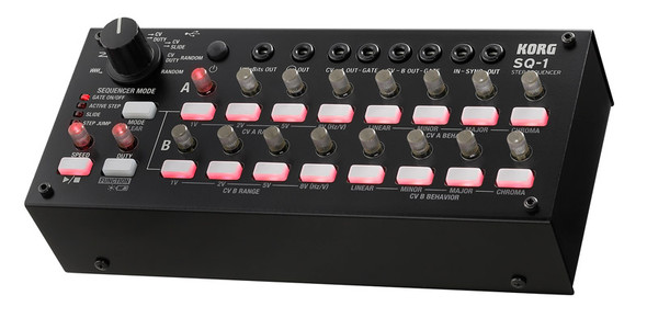 Korg SQ-1 2 x 8 Analogue Step Sequencer
