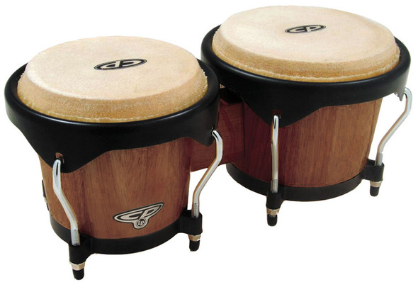 Latin Percussion CP221-DW Traditional Bongos, Dark Wood