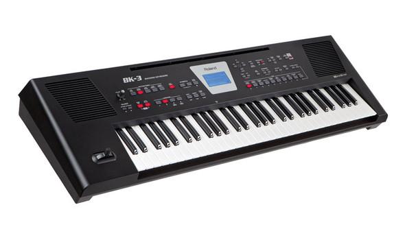 Roland BK-3 Arranger Keyboard, Black