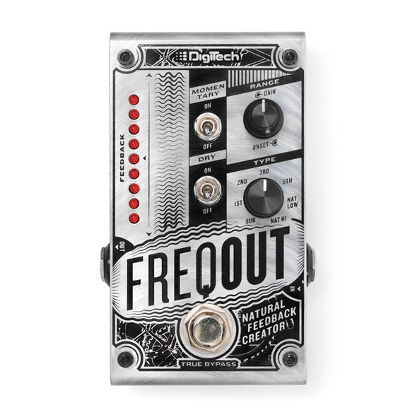 DigiTech FreqOut Feedback Creator Guitar Effects Pedal