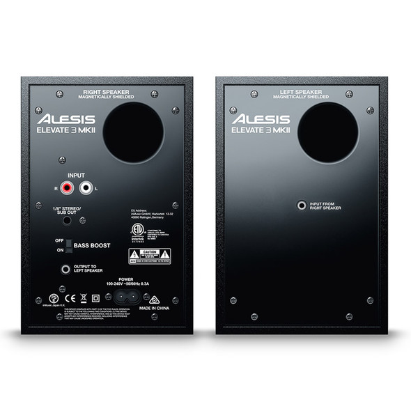 Alesis Elevate 3 MKII Active Studio Monitors