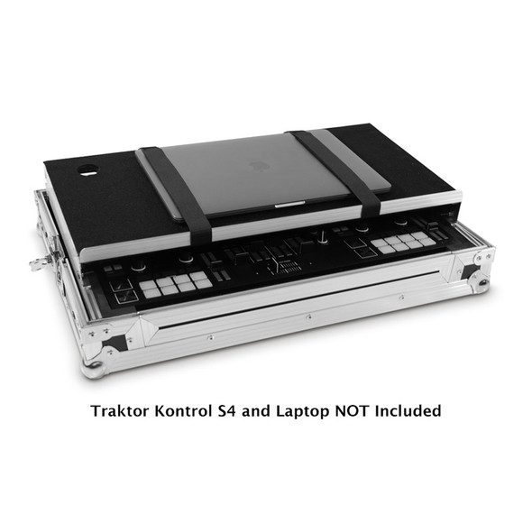 Native Instruments Traktor Kontrol S4 Mk3 Flight Case, fits S4 Mk1 & Mk2, S5