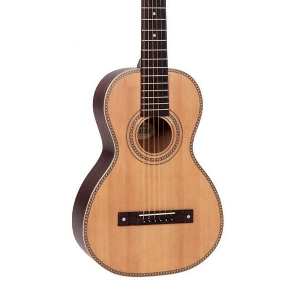 Vintage VTR800 Paul Brett Viator Travel Guitar & Bag