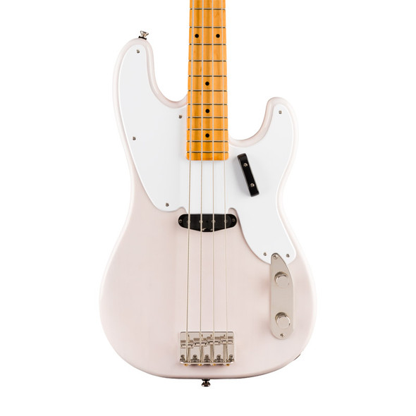 Fender Squier Classic Vibe 50s Precision Bass, White Blonde, Maple
