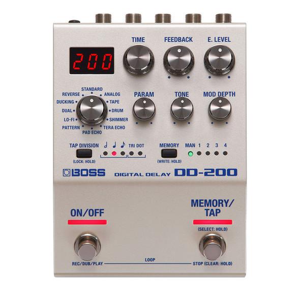 Boss DD-200 Delay Effects Pedal