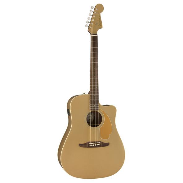 Fender Redondo Player Electro-Acoustic Guitar, Bronze Satin, Walnut