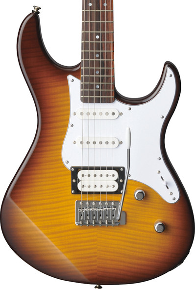 Yamaha Pacifica 212VFM Electric Guitar, Tobacco Sunburst