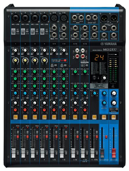 Yamaha MG12XU Mixing Desk with FX and USB Interface
