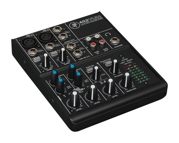 Mackie 402-VLZ4 Compact 4 Channel Mixer